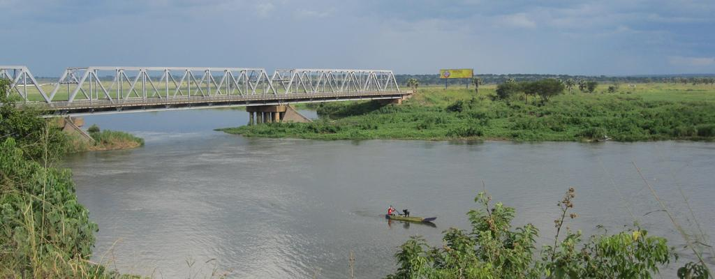 The Pakwach bridge, the gateway into West Nile region of Uganda